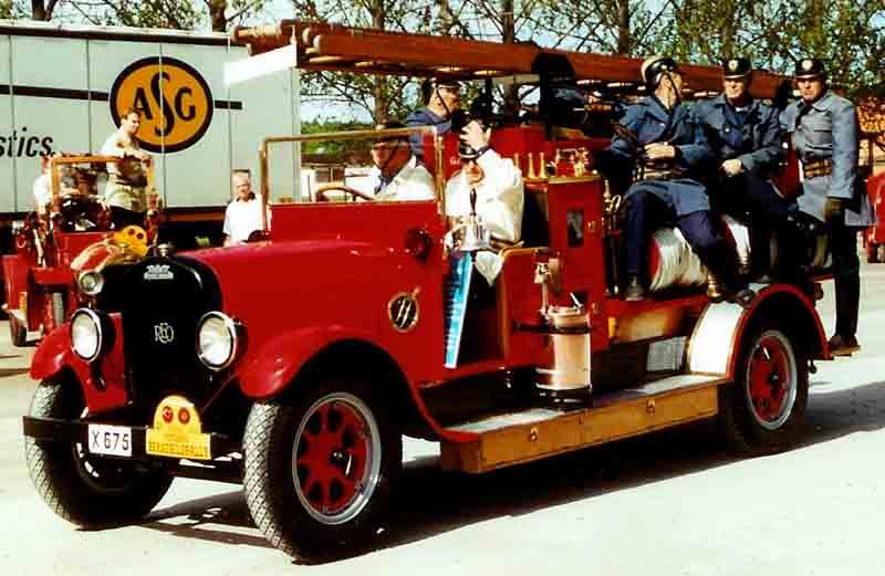1929 Reo Fire Truck
