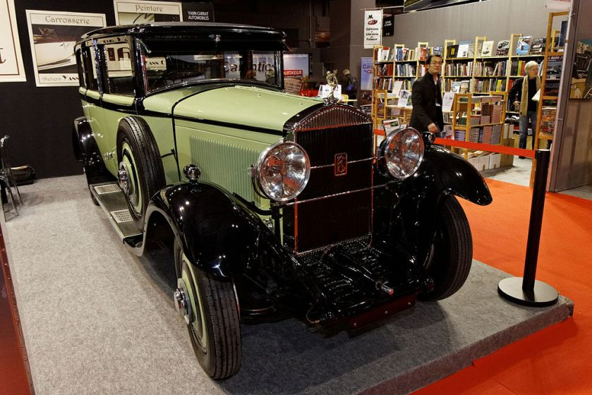 1930 Paris Retromobile Rochet-Schneider 26-six Limousine