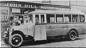 1930 Reo Safety Coach limavady-bus2