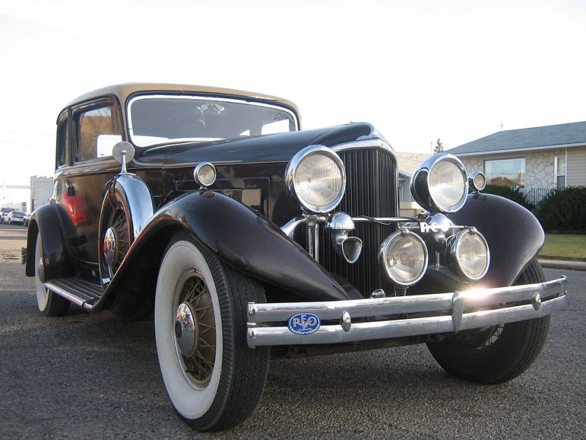 1931 Reo Royale Victoria Eight