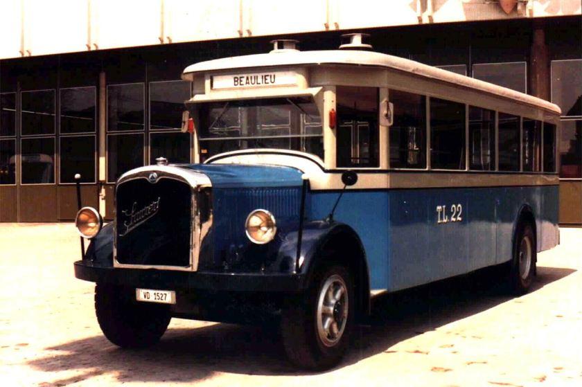 1932 SAURER TL.22 527