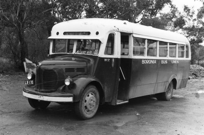 1933 REO BBL7 Dysons Bus Service