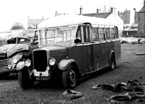 1936 Leyland KPZ2 Cub with Roe B24F body