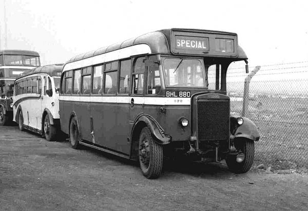 1936 Leyland TS7 with ROE B32 F Body