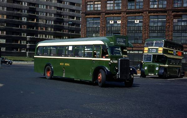 1936 Leyland TS7c with Roe B34F body