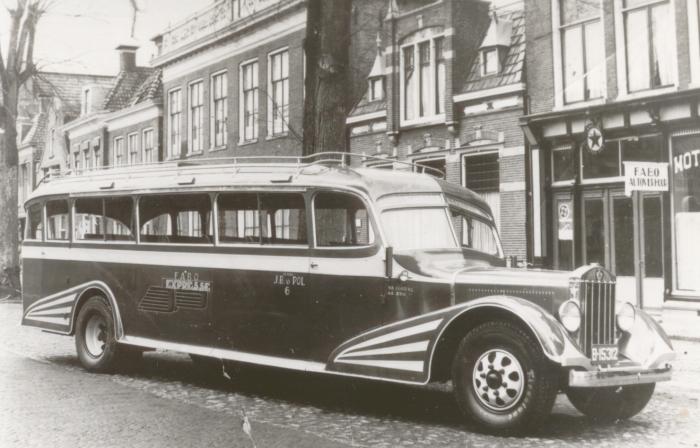 1936 REO Hainje Heerenveen B-15312