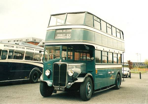 1940 AEC Regent with Roe bodywork