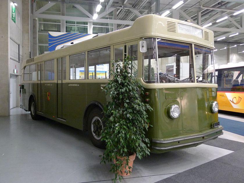 1941 Saurer Autobus 4H CT1D