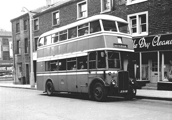 1946 AEC Regent IIIs with Roe H31-25R bodi