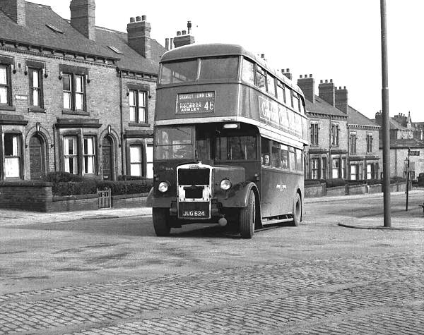1946 Leyland PD1-Roe H31-25R