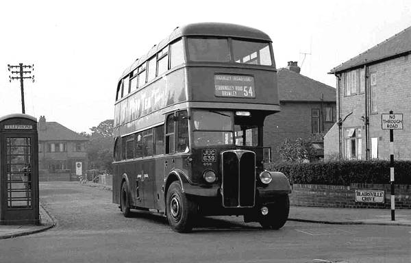 1947 AEC Regent III with Roe H31-25R body