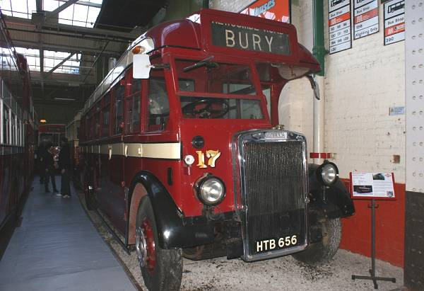 1947 Leyland Tiger PS1 with Roe B35R bodywork