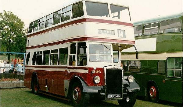 1947 Leyland Titan PD1-3 with Roe bodywork