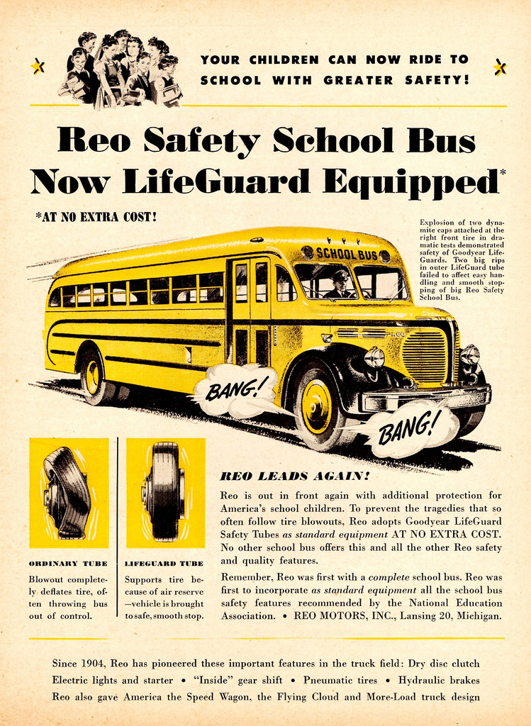 1947 Reo Safety School Bus