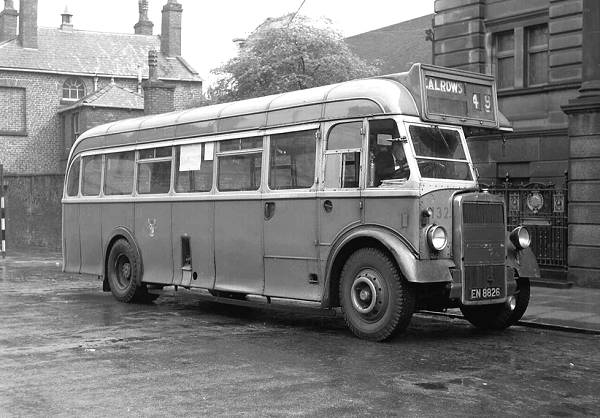 1947 Roe B35R bodywork was fitted to this Leyland PS1