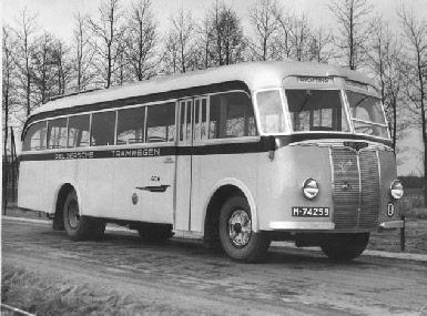 1947 Saurer 4 CT 1D carr Seitz GTW 191 1947