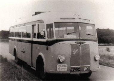 1947 Saurer 4 CT 1D carr Seitz GTW 192