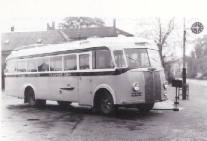 1947 Saurer 4 CT 1D carr Seitz GTW 196