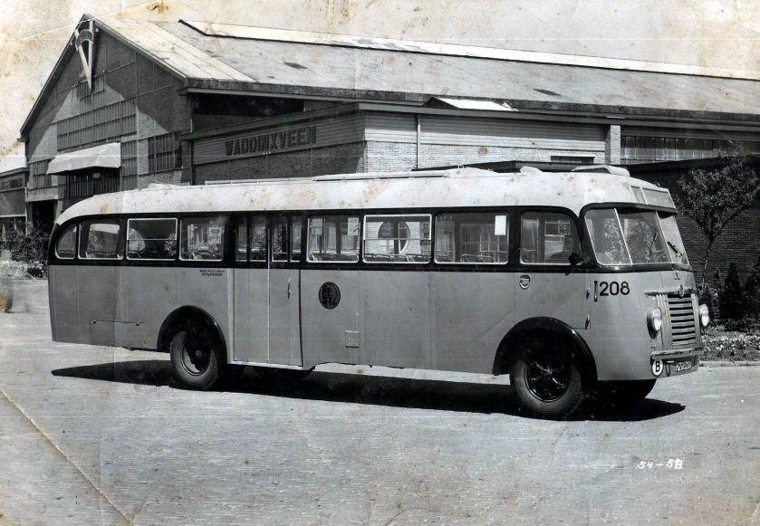 1947 Saurer 4C-H CT 1D Verheul RET 208