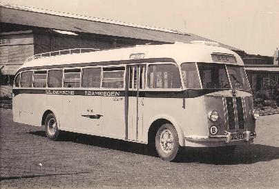 1947 Saurer 4CT 1D carr Verheul GTW 181
