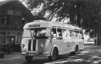 1947 Saurer 4CT 1D carr Verheul GTW 183