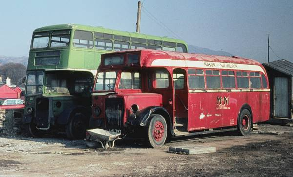 1947 vintage Leyland PS1 with a Roe B32F body