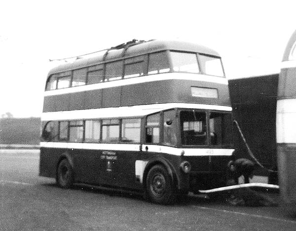 1948 BUT 9611T with Roe bodywork