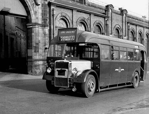 1948 Leyland PS1s with Roe B36R body