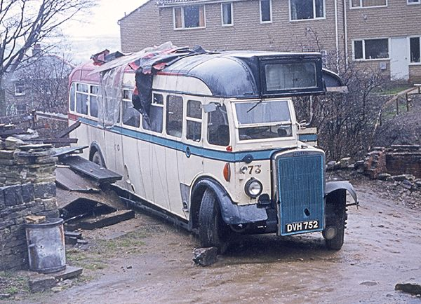 1948 Roe B32F bodied Leyland PS1
