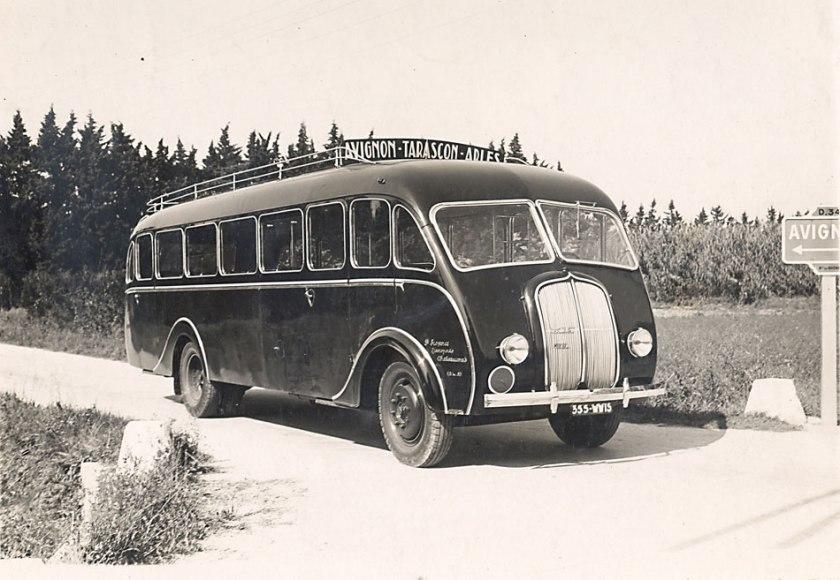 1949 Berliet 12-autocar-sur-chÉssis-cabine-avancÇe-1940