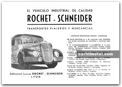 1949 ROCHET SCHNEIDER BUS