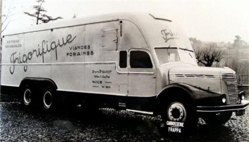 1949 ROCHET-SCHNEIDER Centaure carrosserie Frappa