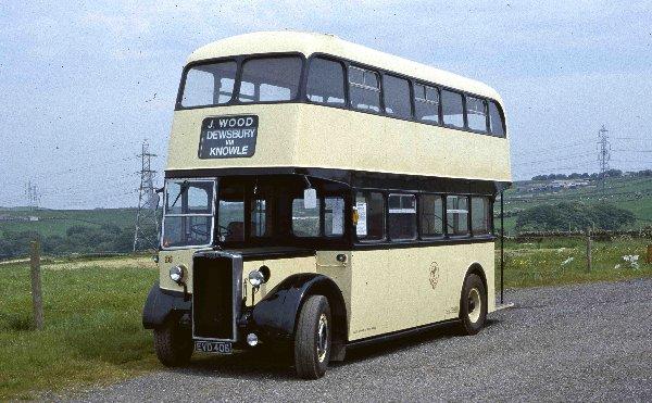 1949 Roe-bodied Crossley