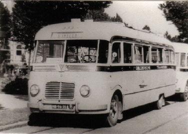 1949 Saurer 4CT1D  carr Verheul GTW 373