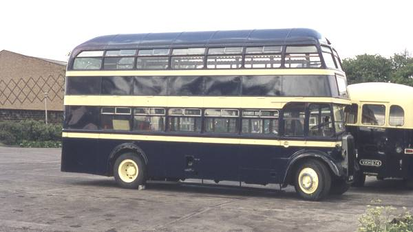 1950 Leyland Titan PD2-3 built with Roe bodywork