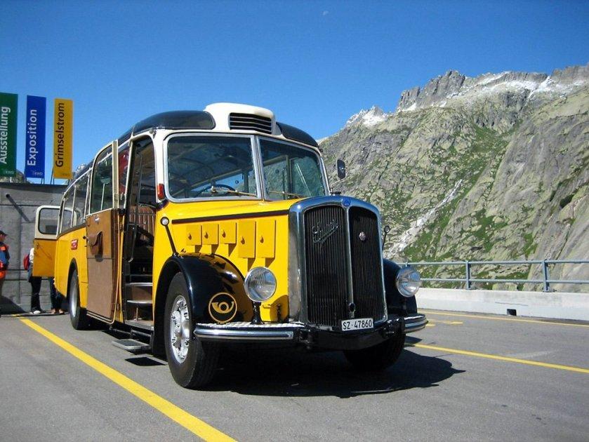 1950 SAURER L4C-CT2d 860