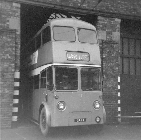 1950 Sunbeam F4 trolley rebodied by Roe in 1964
