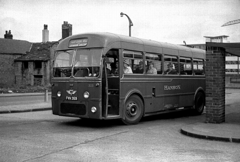 1951 AEC Regak IV with Roe B41F body 1951