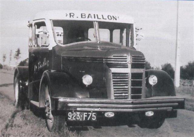 1951 ROCHER SCHNEIDER RS 485 des Tps Baillon un des derniers produits