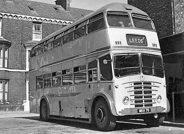 1952 Leyland PD2-12s with Roe coach body