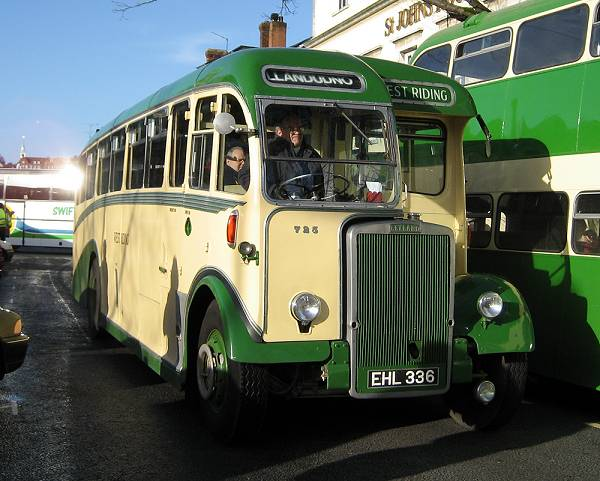 1952 Leyland Tiger PS2-12 with Roe C35F