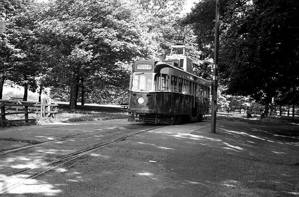 1953 Maley & Taunton equipped Roe bodied railcar new in June 1953