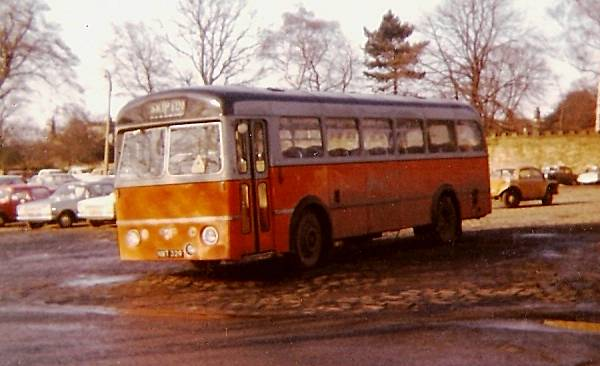 1954 Leyland Royal Tiger with Roe bodywork