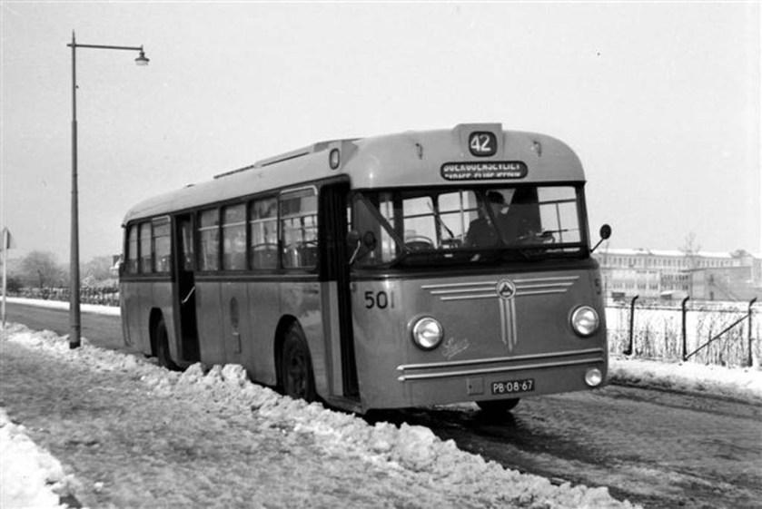 1954 Saurer-Hainje foto van Jan Voerman RET