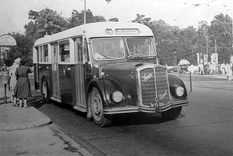 1954 Saurer Vienna 1954