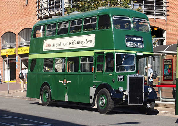 1955 Leyland Titan PD2-11 with a Roe H33-25R body