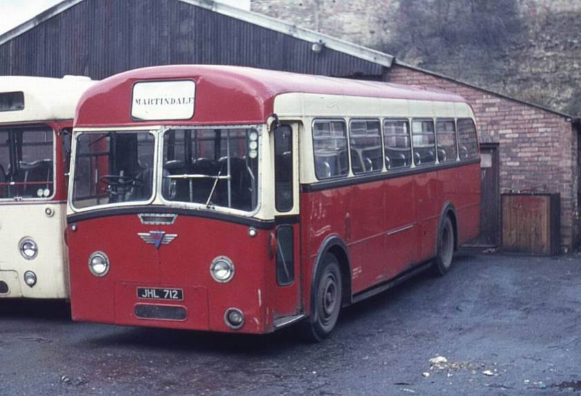 1956 AEC Reliance MU3RV with Roe B44F bodywork