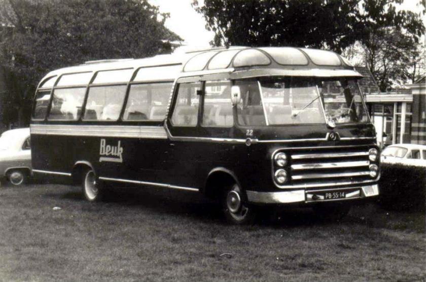 1956 Mercedes Benz Roset Beuk 22
