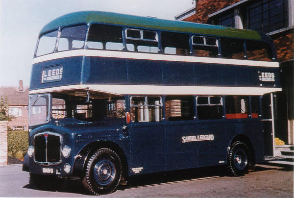 1957 AEC Regent V 1949U with Roe H37-28R body