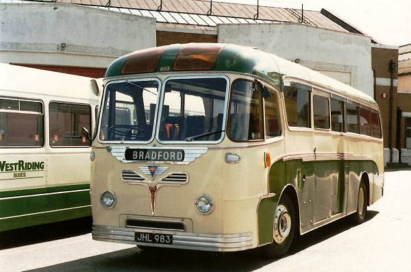 1957 AEC Reliance MU3RV with Roe Dalesman body